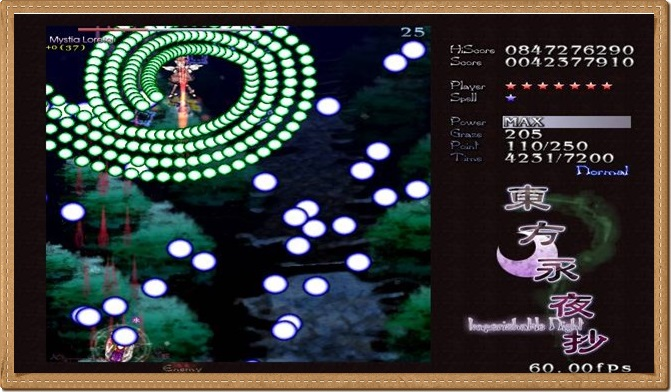 Touhou 8 Imperishable Night PC Gameplay