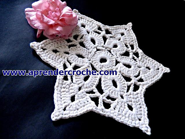 pega panelas estrela aprender croche edinir-croche video-aulas edinircrochevideos curso de croche