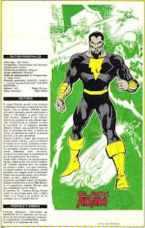 Adam Negro (ficha dc comics)