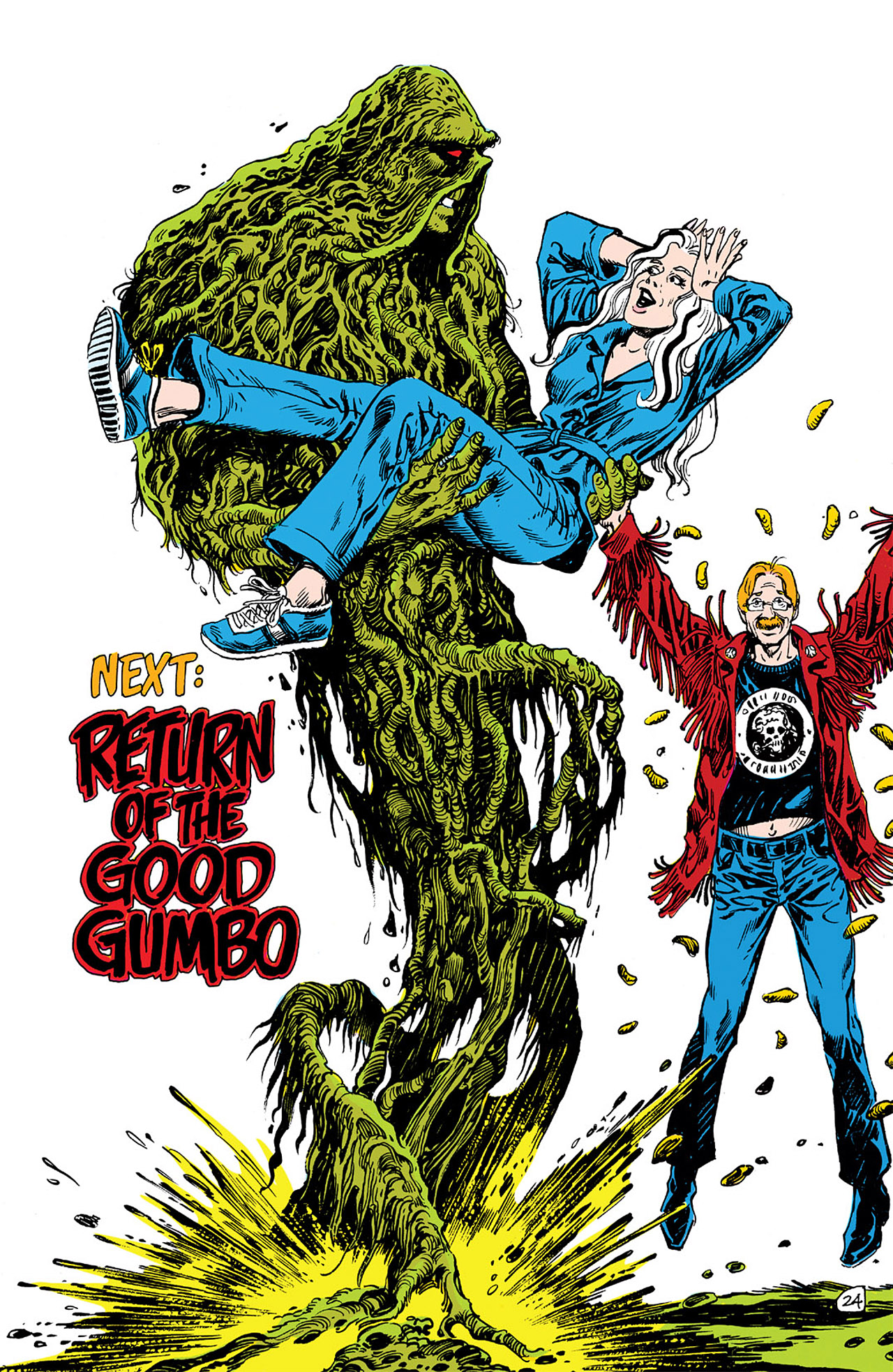 Swamp Thing (1982) Issue #63 #71 - English 24