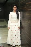 Megha Akash in beautiful White Anarkali Dress at Pre release function of Movie LIE ~ Celebrities Galleries 061.JPG