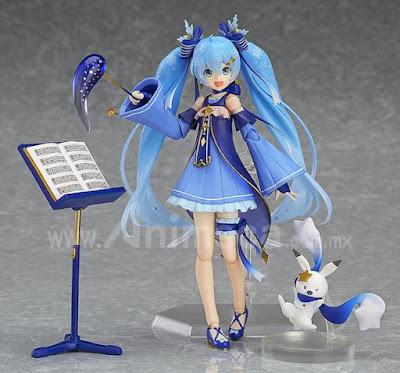 Figura Snow Miku Twinkle Snow Ver. figma Edición Limitada Hatsune Miku Vocaloid