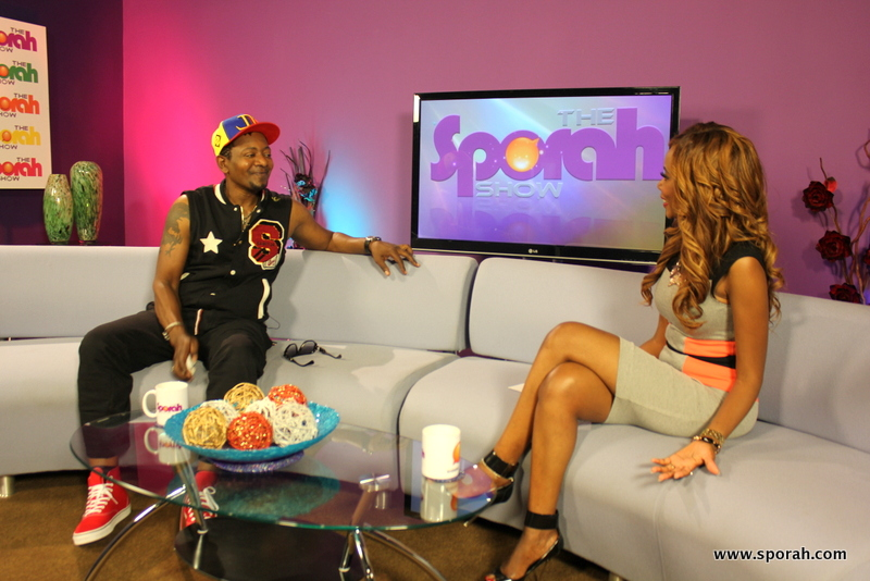 SPORAH TV: IT'S AWILO LONGOMBA, OPENING THE SHOW WITH HIS