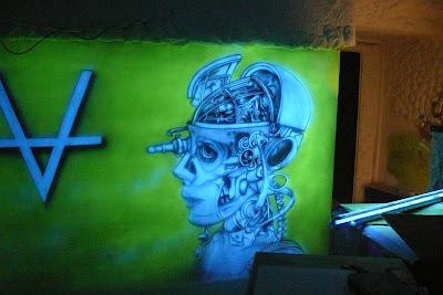 Malarstwo ścienne, malowanie obrazów na ścianach 3D, obrazy malowane farbami akrylowymi, mural 3D