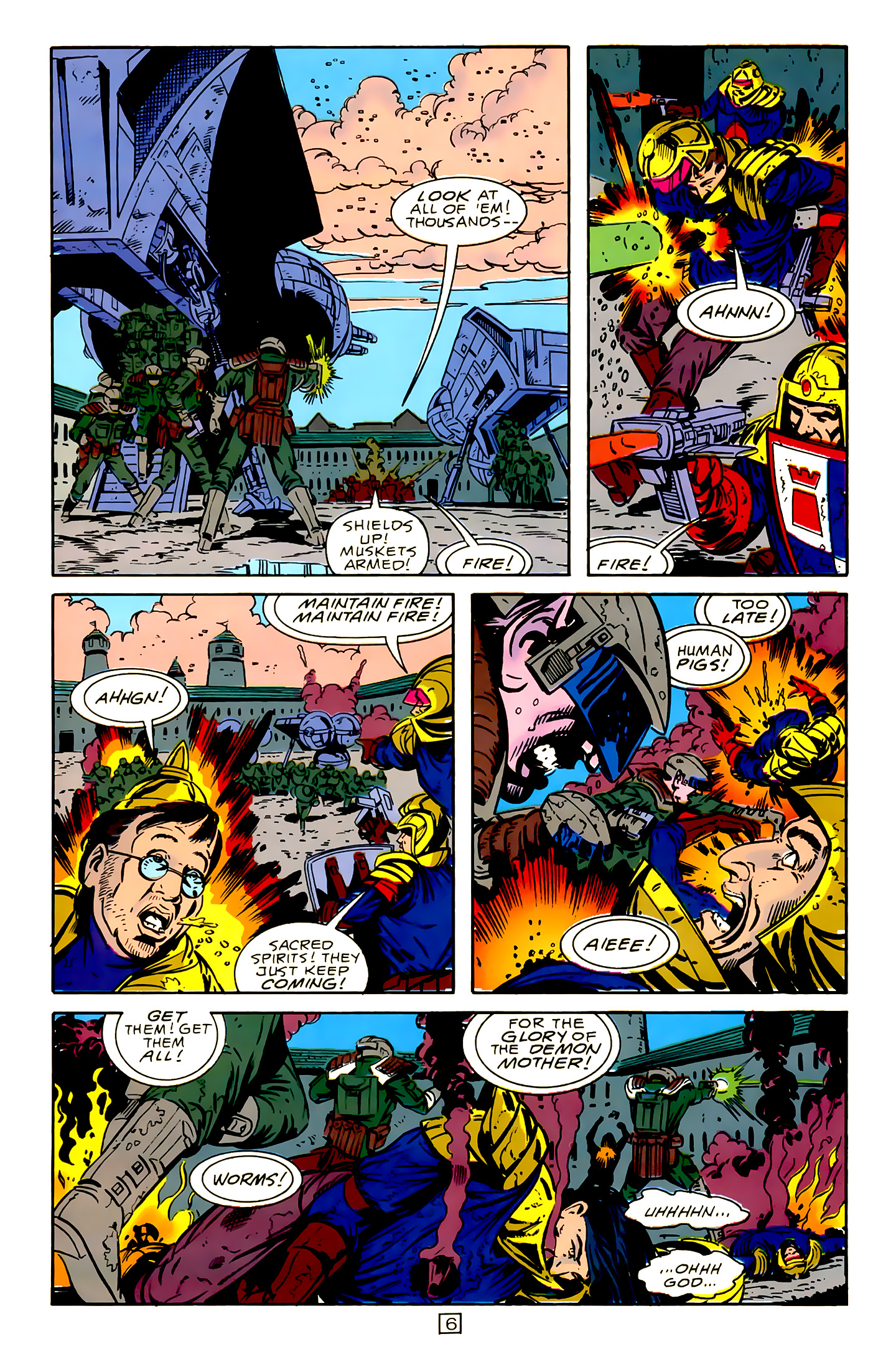 Legion of Super-Heroes (1989) 15 Page 6