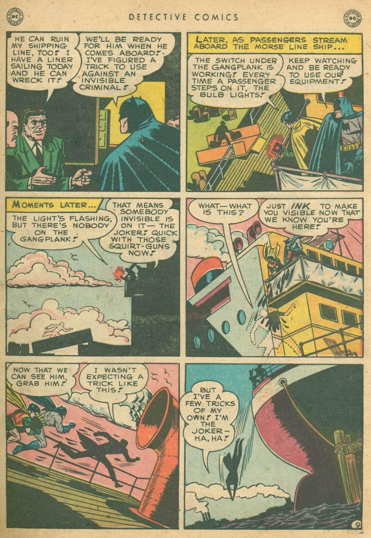 Detective Comics (1937) 138 Page 10