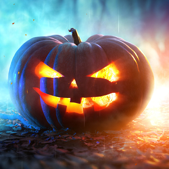 Halloween Pumpkin Wallpaper Engine