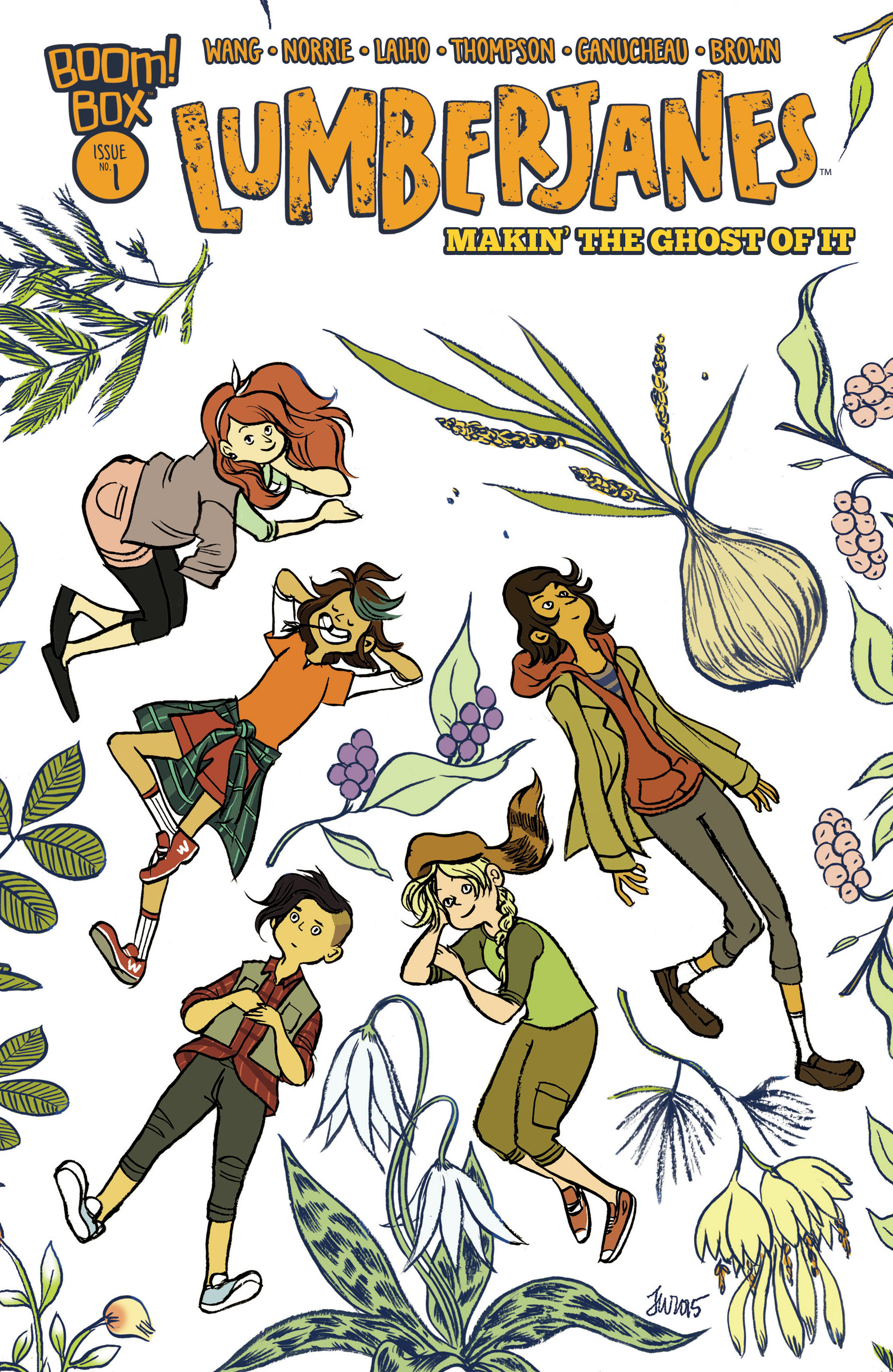 Lumberjanes: Makin the Ghost of It 2016 Special Full Page 1