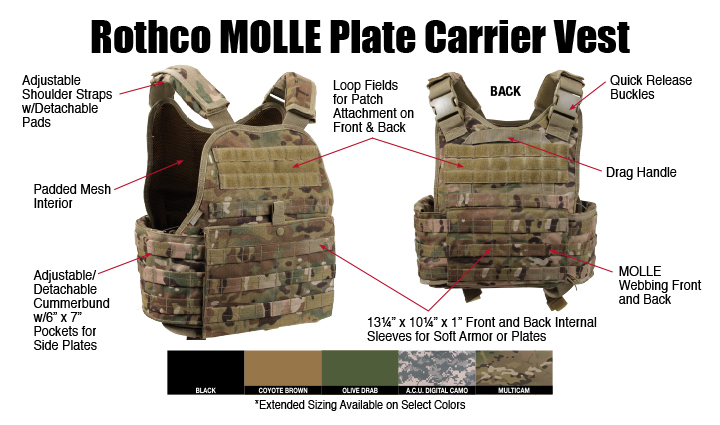 Gear Up with Rothco Tactical Vests