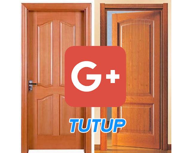 google plus tutup