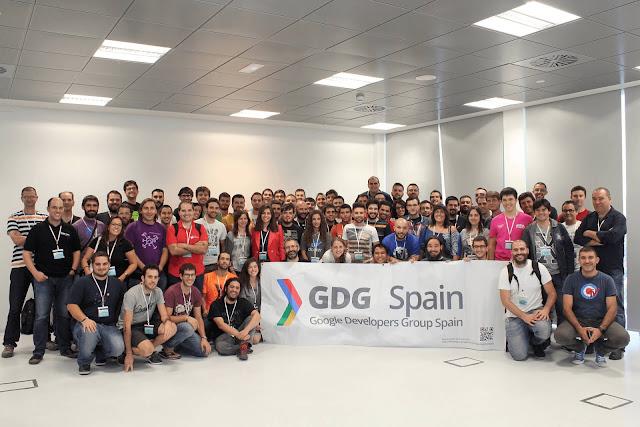 Celebramos el encuentro anual de los GDG Españoles #GDGSummitES este fin de semana en Málaga