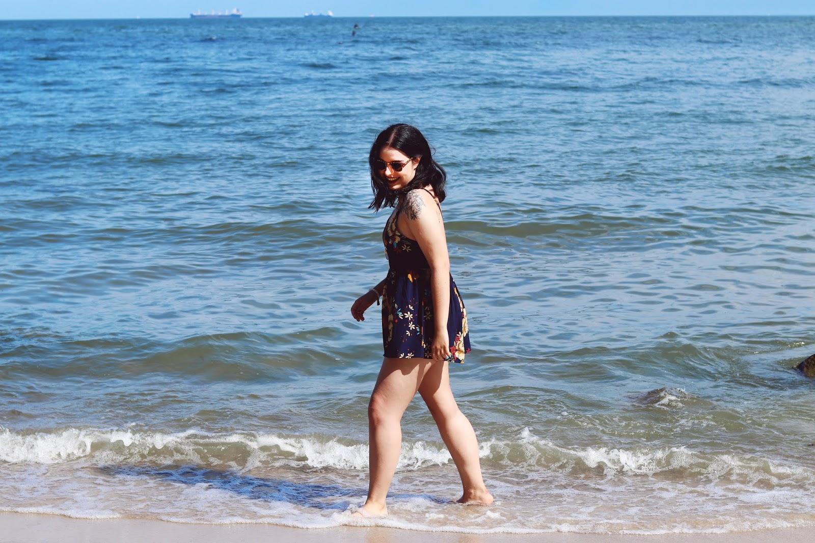 morze klify Gdynia Orłowo