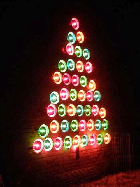 Make Homemade Outdoor Christmas Decorations Stylish Home