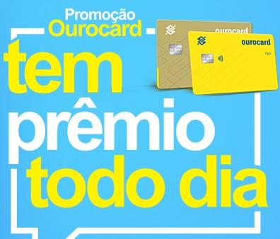Cadastrar Promoção Ourocard 2020 Tem Prêmio Todo Dia Mil Reais e 100 Mil Mensal - Cartão
