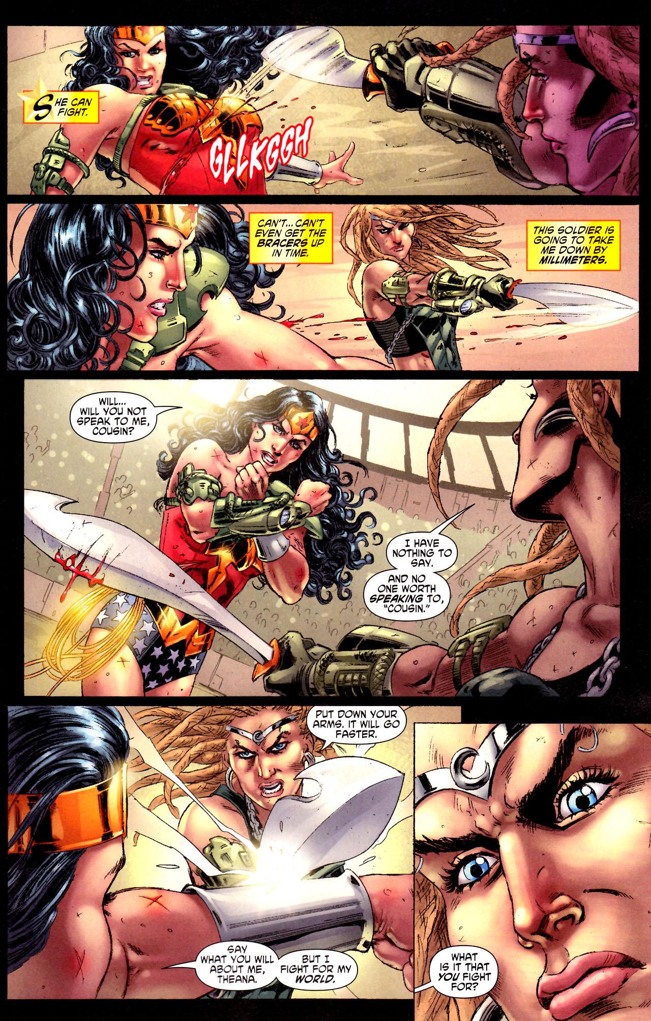 Read online Wonder Woman (2006) comic -  Issue #44 - 7