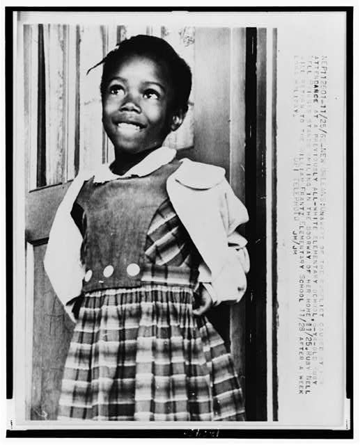 Coloring page of ruby bridge peanut punch mix for Ruby bridges coloring pages