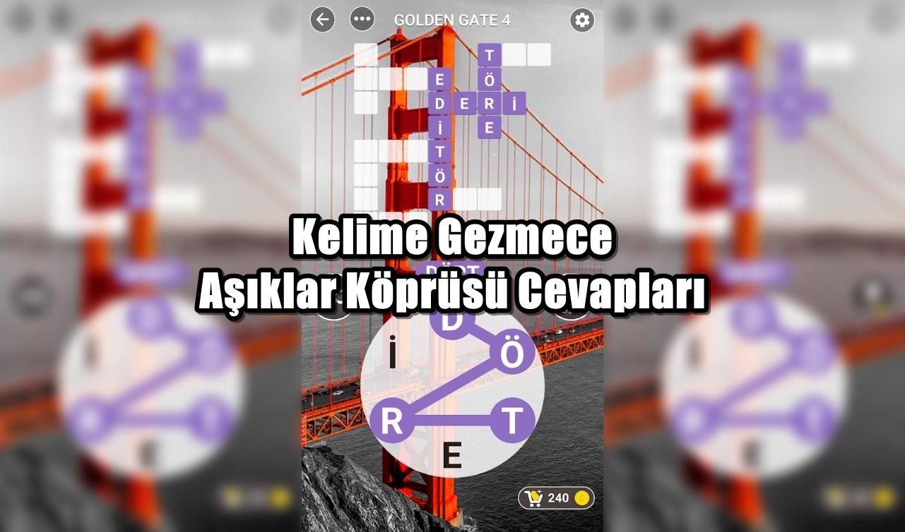 Kelime Gezmece Asiklar Koprusu Cevaplari