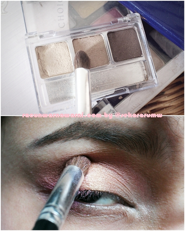 Kerjasama Brush dan Eyeshadow