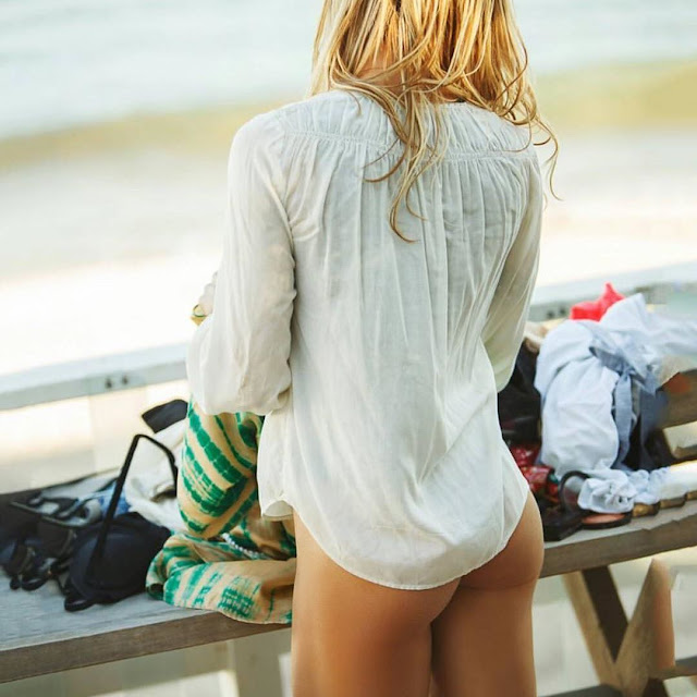Torrie Wilson Beach Photoshoot