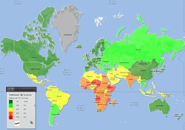 iq haritası