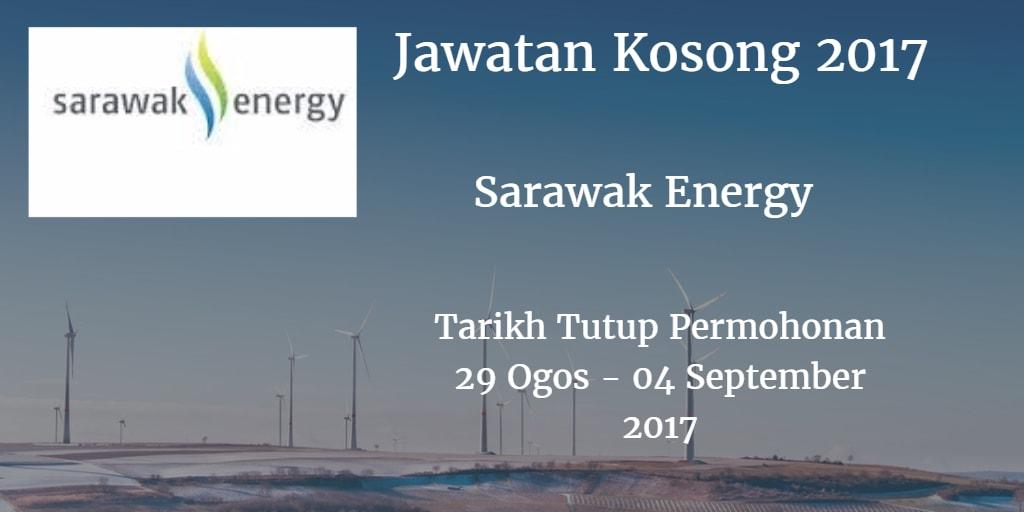 Jawatan Kosong Sarawak Energy 29 Ogos - 04 September 2017