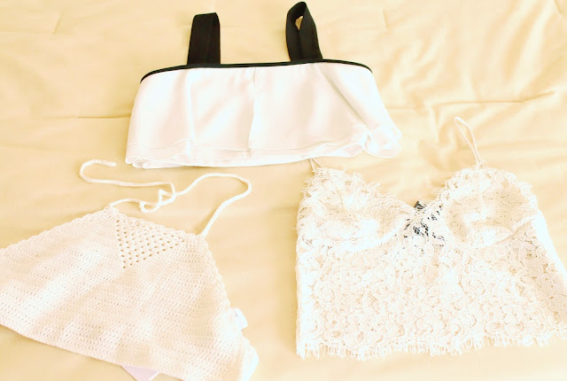 New crop tops; great for spring and summer