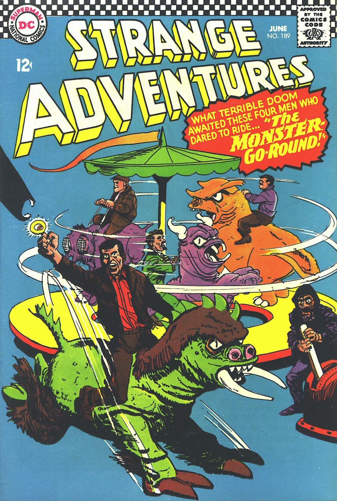 Strange Adventures (1950) issue 189 - Page 1