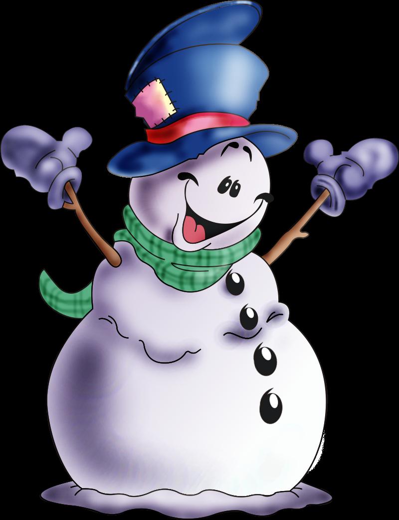 Картинка с надписью снеговик