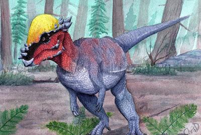 The Work of Art By Anz  Pachycephalosaurus%2B%2528wm%2529