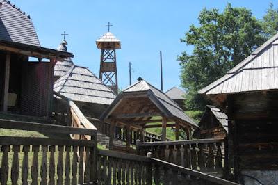 Servië, filmdorp Drvengrad