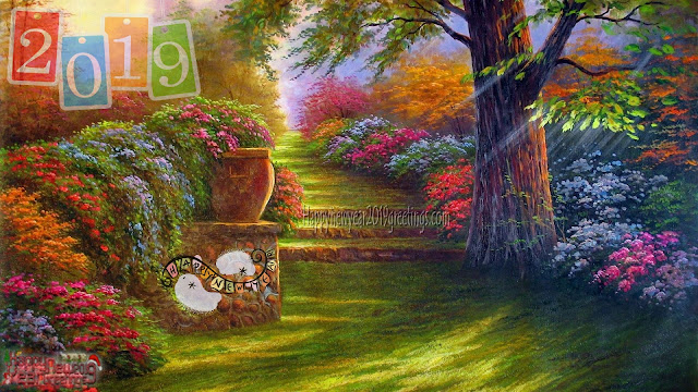 Happy New Year 2019 Nature Background Images In HD