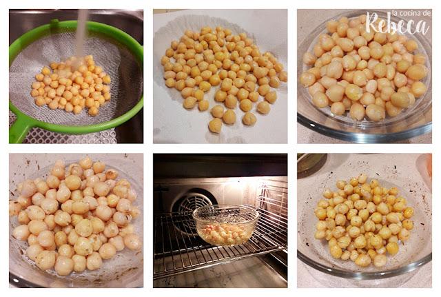 Receta de ensalada de garbanzos especiados: cómo cocinar los garbanzos