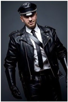 Gambar Jaket Kulit Motor Untuk Polisi USA