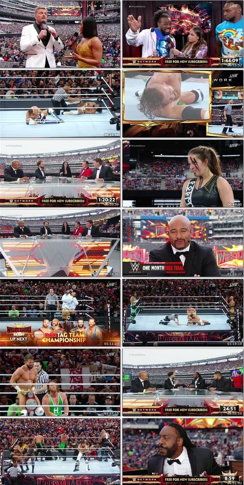 WWE Wrestlemania 35 (2019) PPV Full Show 720p HDRip 1.3GB Download