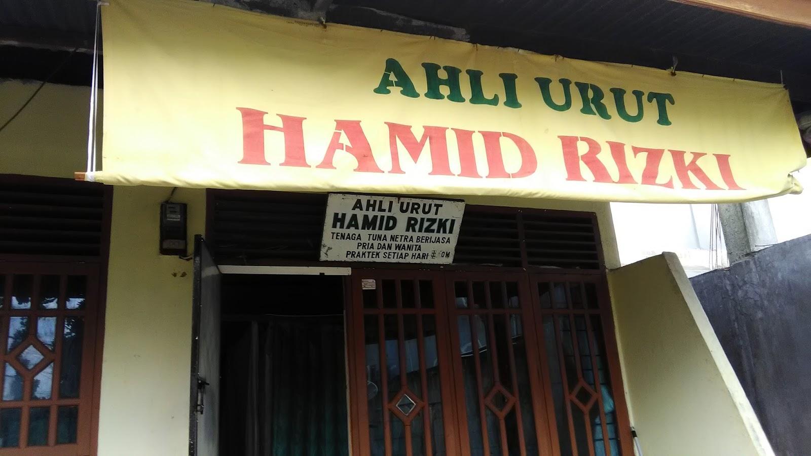 Ahli Urut Hamid Rizki