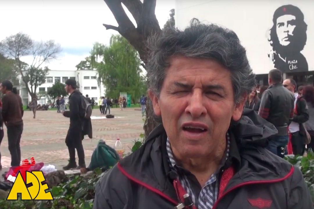 Renan Vega habla sobre la importancia de la lucha de las y los estudiantes