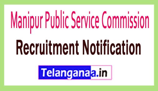 Manipur PSC Recruitment Notification