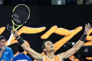 Nadal beats Tiafoe, reaches Australian Open semis