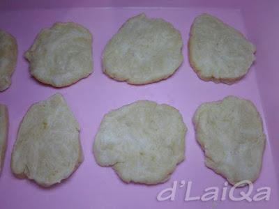adonan kulit pisang molen