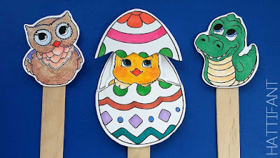 easter surprise eggs printable craft sticks