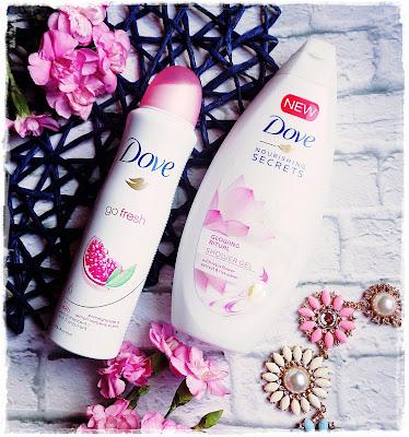 Dove Go Fresh i Glowing Ritual, Letnie Umilacze