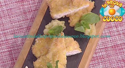 Prova del cuoco - Ingredienti e procedimento della ricetta Fettine di tacchino panate al curry di Roberto Valbuzzi