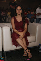 Pragya Jaiswal in Stunnign Deep neck Designer Maroon Dress at Nakshatram music launch ~ CelebesNext Celebrities Galleries 102.JPG