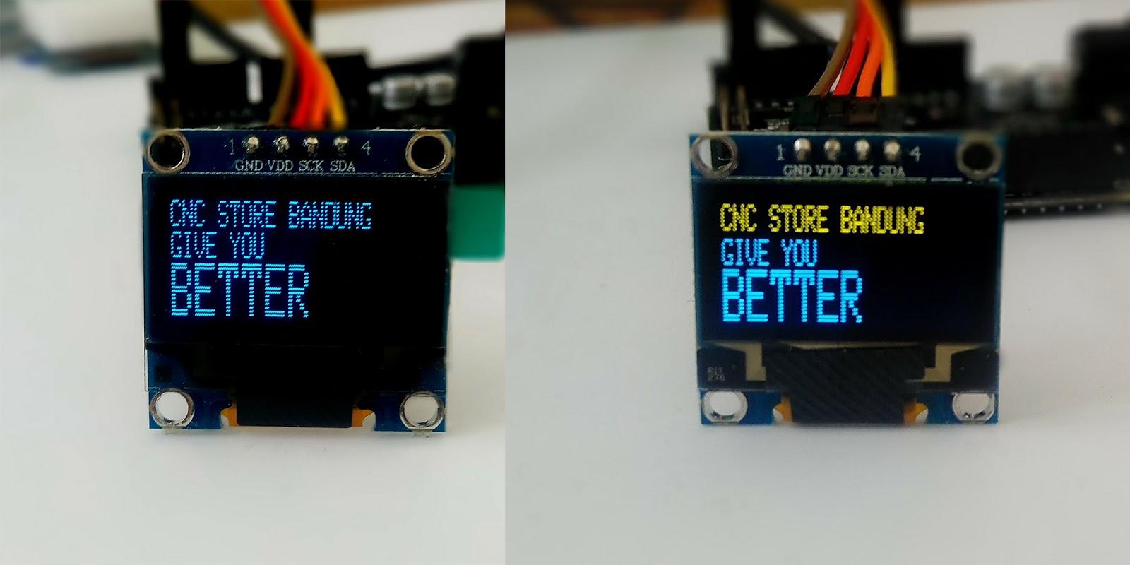 Display arduino i2c