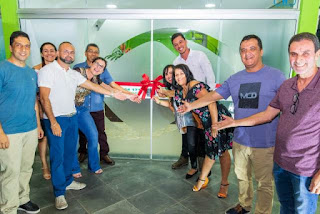Aceja inaugura nova sede ao lado da diretoria, associados e entidades parceiras.