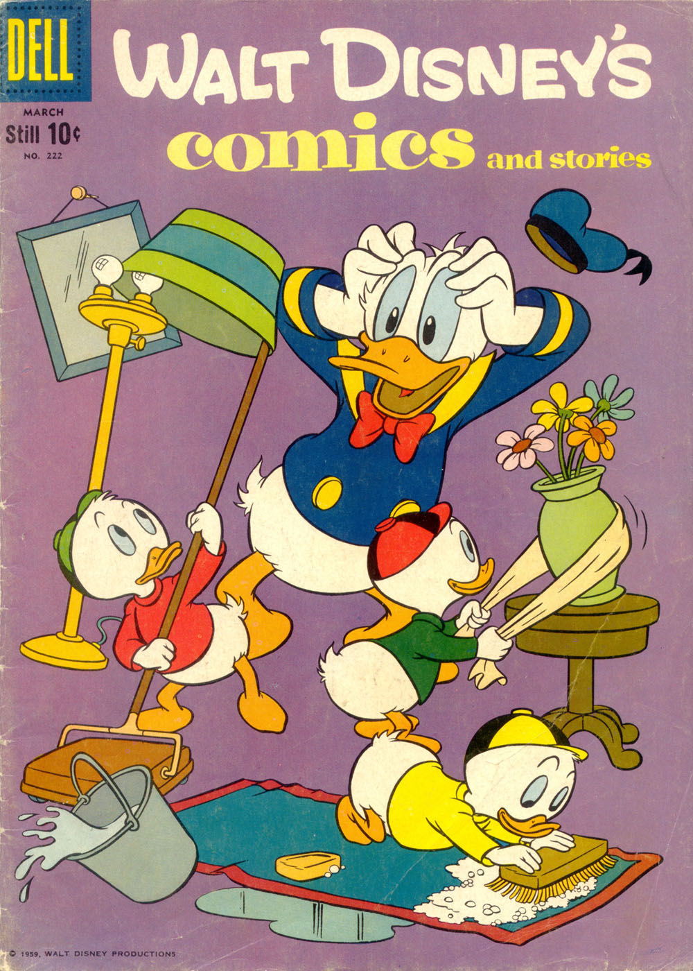 Walt Disney's Comics and Stories issue 222 - Page 1