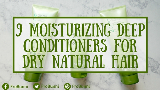 FroBunni | 9 Moisturizing Deep Conditioners for Dry Natural Hair Header