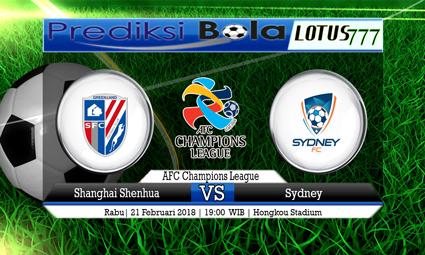 PREDIKSI  SKOR Shanghai Shenhua vs Sydney 21 Februari 2018