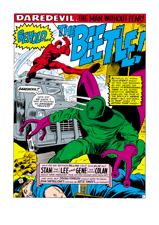 Daredevil (1964) 33 Page 1
