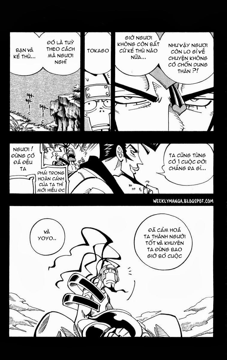 Shaman King [Vua pháp thuật] chap 102 trang 14